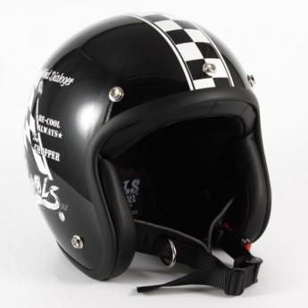 72JAM(ジャムテックジャパン) ジェットヘルメットCOOLS WIND DIALOGER XLサイズ(ブラック) [HMW-05L]