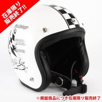 72JAM(ジャムテックジャパン) ジェットヘルメットCOOLS WIND DIALOGER XLサイズ(ホワイト) [HMW-06L]