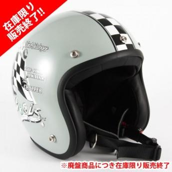 72JAM(ジャムテックジャパン) ジェットヘルメットCOOLS WIND DIALOGER XLサイズ(グレー) [HMW-07L]