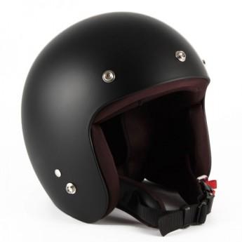 72JAM(ジャムテックジャパン) ジェットヘルメットIKURA Moon dogs(ブラック) [IK-02]