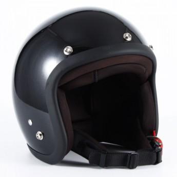 72JAM(ジャムテックジャパン) ジェットヘルメット72JAM JET VIVID BLACK(ブラック) [JJ-10]