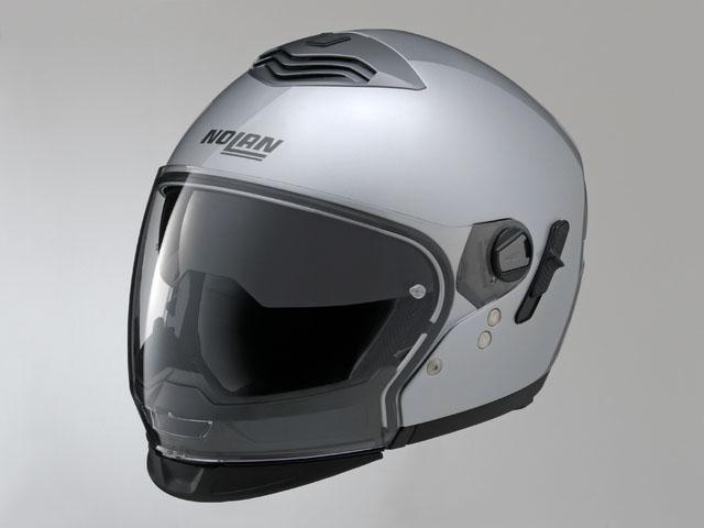 デイトナ(DAYTONA)NOLAN(ノーラン)フルフェイスヘルメット N43E ソリッド プラチナシルバー/1 L 78522