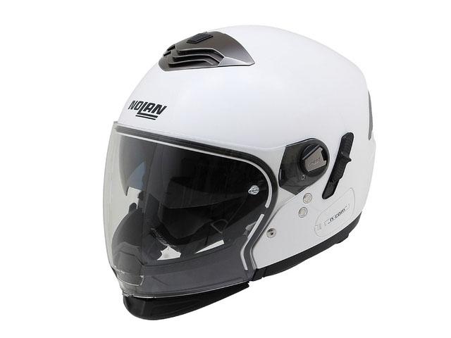 デイトナ(DAYTONA)NOLAN(ノーラン)フルフェイスヘルメット N43E ソリッド メタルホワイト/5 M 78527
