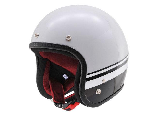 デイトナ(DAYTONA) Hattrick オリジナルジェットヘルメット DA01BL グレー/ブラック XL(90391)