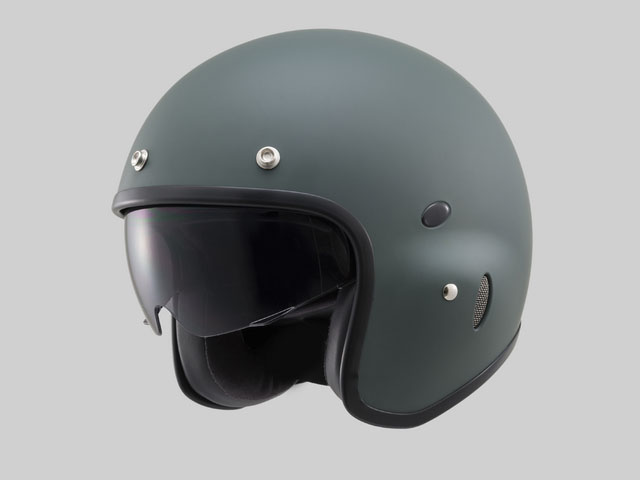 デイトナ(DAYTONA)Hattrick(ハットトリック)パイロットタイプヘルメット PH-1 マットグリーン Mフリー 91408