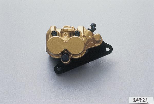 デイトナ(DAYTONA)ニッシン(NISSIN)ブレーキキャリパー 2POT ASSY ゴールド[24821]