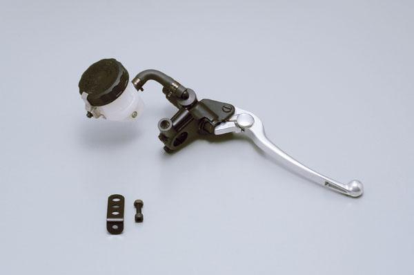 デイトナ(DAYTONA)ニッシン(NISSIN) ブレーキマスターシリンダー横型 1/2インチ ブラック/バフクリア[61742]