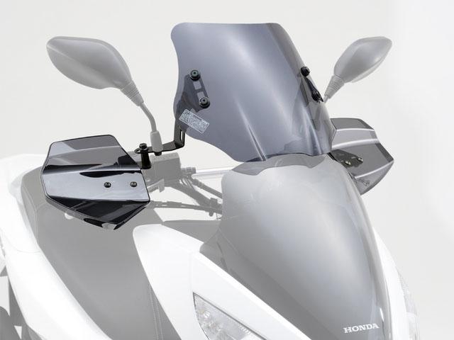 デイトナ(DAYTONA)エアロナックルバイザー&ウインドシールドSS 車種別セット PCX用[91672]