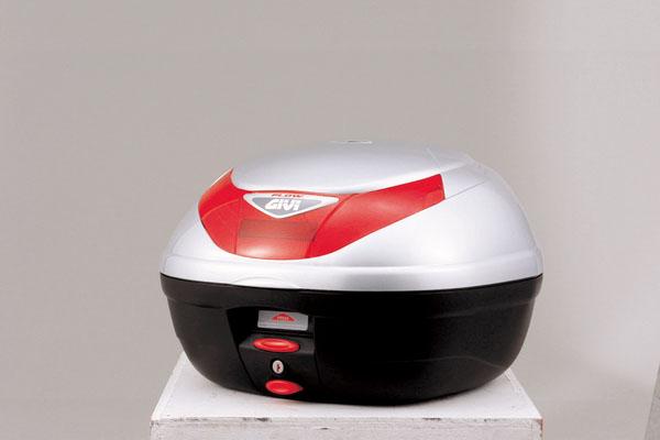 デイトナ(DAYTONA)ジビ(GIVI) 【E350G730】E350 FLOW (35L)シルバー塗装[68042]