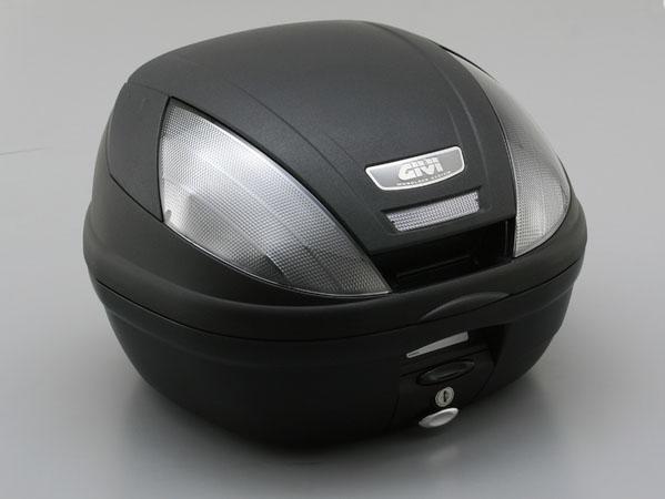 デイトナ(DAYTONA)ジビ(GIVI) 【E370NTD】E370 (39L)未塗装ブラック TECHスモークレンズ[74944]
