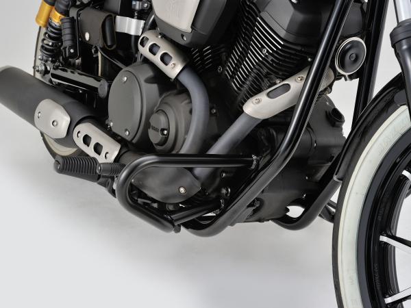 デイトナ(DAYTONA)パイプエンジンガード BOLT用 (スチール製マットブラック塗装仕上げ) (96089)