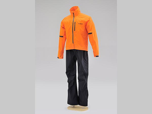 デイトナ(DAYTONA)HR-001 マイクロレインスーツ オレンジ(96772)