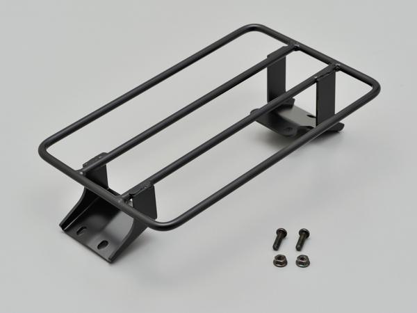 デイトナ(DAYTONA)フラットキャリア DS250用 スチール製黒塗装仕上げ (97424)