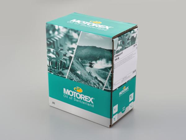 デイトナ(DAYTONA)MOTOREX(モトレックス) FORMULA 4T 15W-50 ディスペンサー付きバッグ 20L(97862)