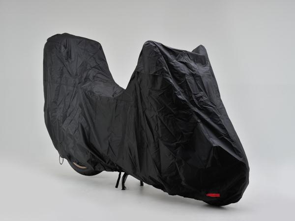 デイトナ(DAYTONA) ブラックカバー ウォーターレジスタント ライト カラー:ブラック タイプ:ビッグスクーター/トップケース装着車用(97953)