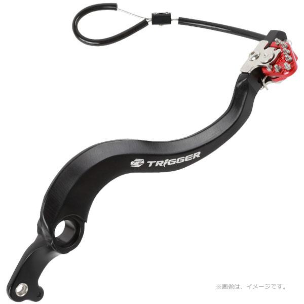 ZETA (ジータ) トリガーブレーキペダル レッド (ZE90-7222)
