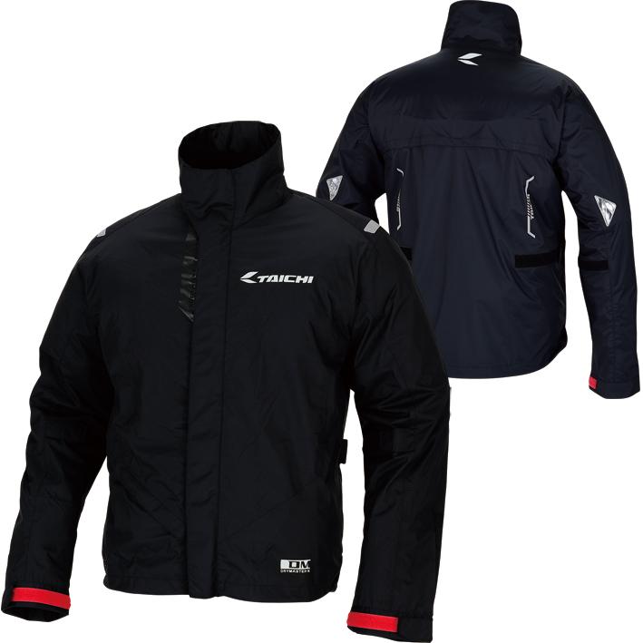RSタイチ RSR042 ドライマスターX コンパクト レインスーツ [ブラック/XL]