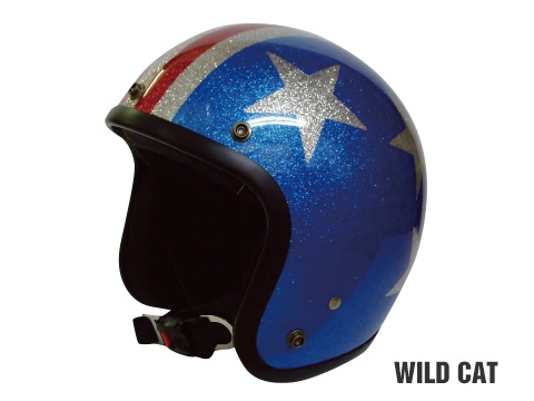 ヒートグループ CP-13 ジェットヘルメット GLITTER JET (WildCat/フリー)