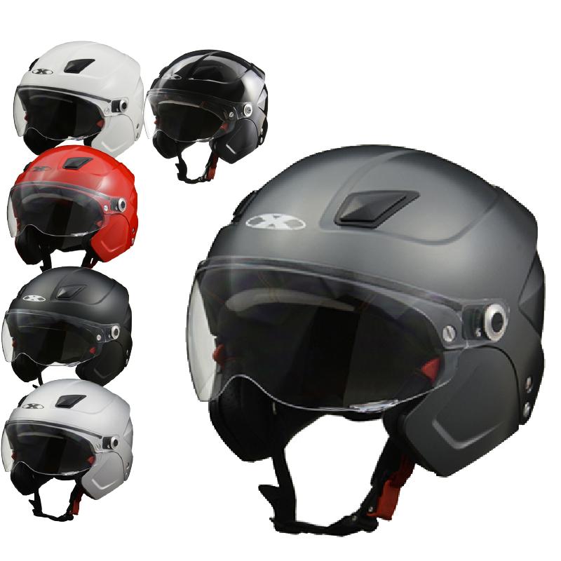 リード工業 X-AIR SOLDAD(ソルダード)システムセミジェットヘルメット