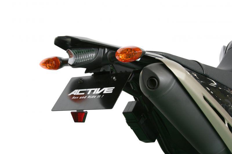 アクティブ(ACTIVE) フェンダーレスKIT ブラック LED ナンバー灯付 WR250X 08-14(1153051)