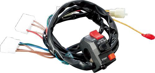 アクティブ(ACTIVE) スイッチASSY TW200 00-02/TW225 00-07(常時点灯式ノミ)(1383314)