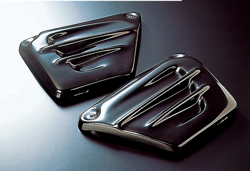 ファナティック(FANATIC) サイドカバー FRP 黒ゲル V-MAX(5073002)