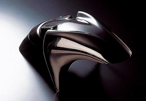ファナティック(FANATIC) フロントフェンダー FRP 黒ゲル V-MAX 93-(5073004)