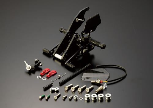 ギルズツーリング バックステップ ブラック (プレッシャーSW付キ) CB1300SF 03-11/SB 05-11/ST 10-11 (ABS付車可)(H08B)
