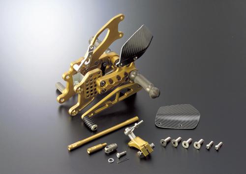 ギルズツーリング バックステップ GLD (プレッシャーSW付キ) CBR1000RR 04-07(H09PG)