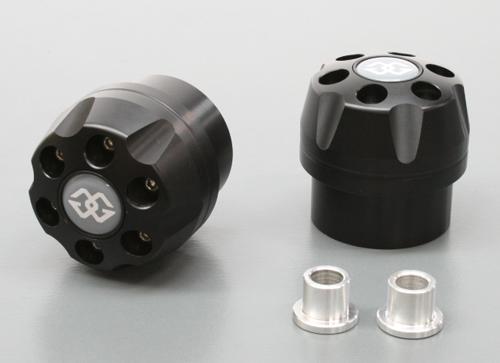 ギルズツーリング IPパッド(フレームスライダー) ブラック CBR1000RR 09-11 (ABS)(IP-HO31-B)