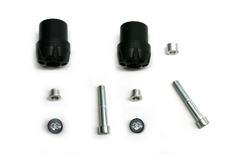 ギルズツーリング IPパッド(フレームスライダー) ブラック (ショート70mm) FJR1300 06-09(IP-YA26-B)