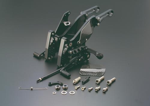 ギルズツーリング (長期納期品) バックステップ ブラック (プレッシャーSW付キ) Z1000 03-06(K06B)