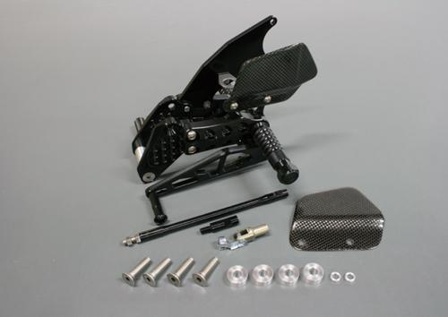 ギルズツーリング バックステップ ブラック B-KING 08-10(S10B)