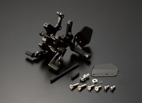 ギルズツーリング (長期納期品)バックステップ VCR38GT ブラック ZX-10R 11-13 (ABS可)(VCR-K06-B)