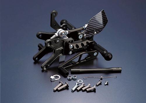 ギルズツーリング (長期納期品)バックステップ ブラック (プレッシャーSW付キ) YZF-R1 98-03(Y01B)