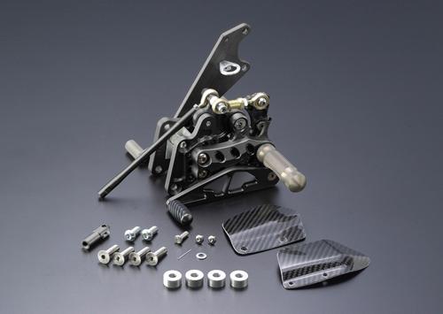 ギルズツーリング (長期納期品)バックステップ ブラック (プレッシャーSW付キ) FZS1000 FAZER 01-05(Y02B)