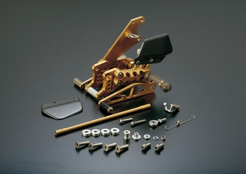 ギルズツーリング バックステップ ブラック FZ-1 08-12/FAZER 06-12 (ABS不可)(Y10B)