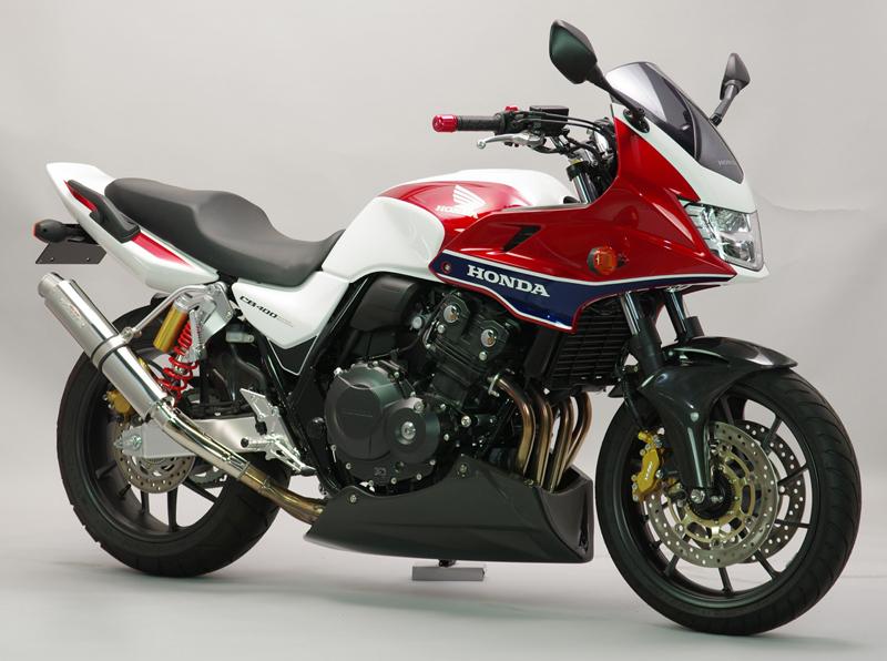 サンセイレーシング ZNIC リアエキゾースト ステンレス -'16 CB400SF/SB/Revo/ABS (0-22-ZSS1410J)