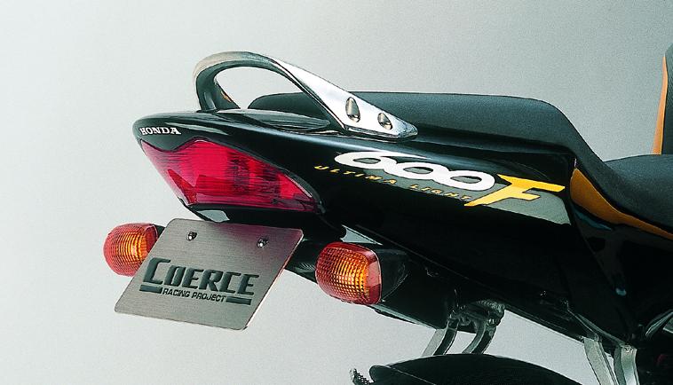 COERCE(コアース) フェンダーレスキット FRP黒ゲル 99/'00 CBR600F/F4i (0-42-CFLF1601)
