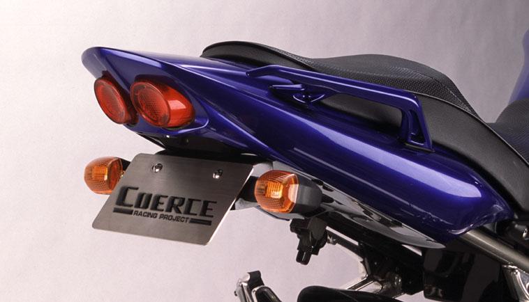 COERCE(コアース) フェンダーレスキット FRP黒ゲル FZS1000 (0-42-CFLF2108)