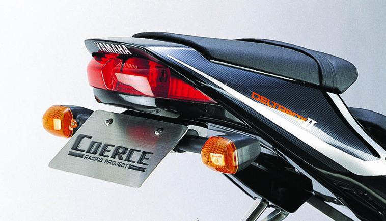 COERCE(コアース) フェンダーレスキット FRP黒ゲル -'00 YZF-R6 (0-42-CFLF2601)