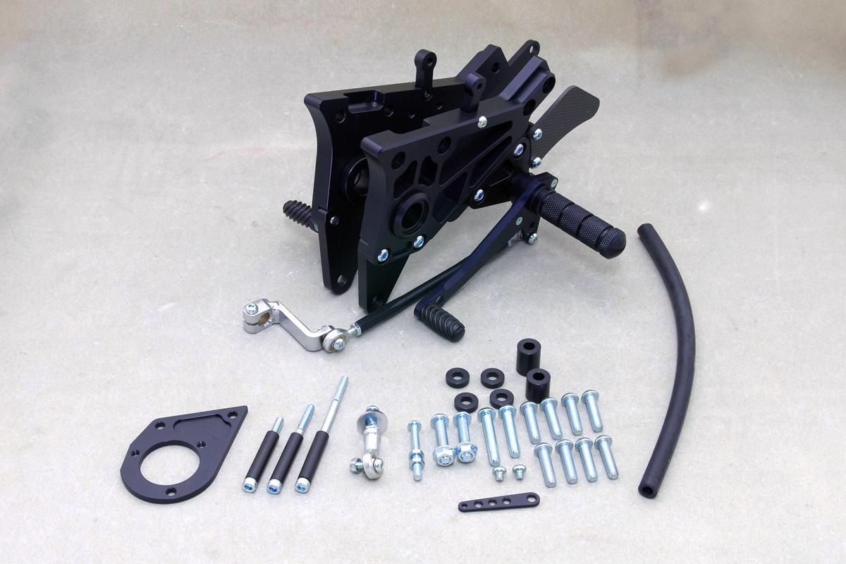 WR'S(ダブルアールズ) バトルステップ 3POSITION BK GPZ900 TYPE-1(フルプレート) (0-45-WK4920)
