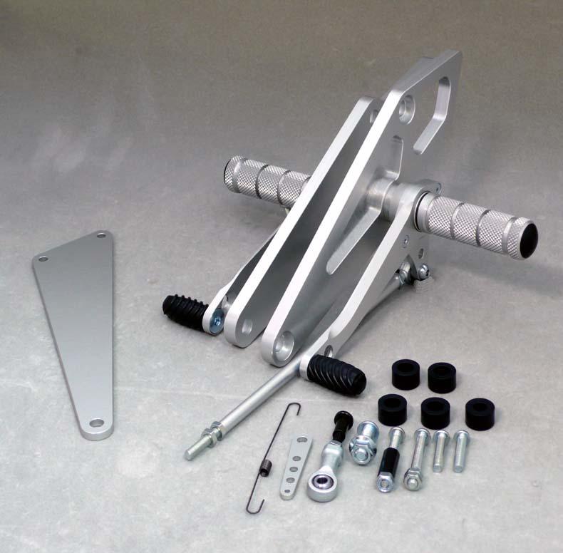 WR'S(ダブルアールズ) バトルステップ 1ポジション GSX400IMPULSE/S (0-45-WS3401)