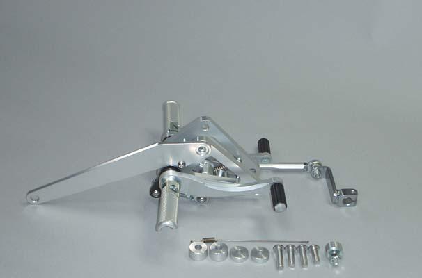 COERCE(コアース) フィクスドレーシングステップ GB250 2型-5型 (0-6-BH38)