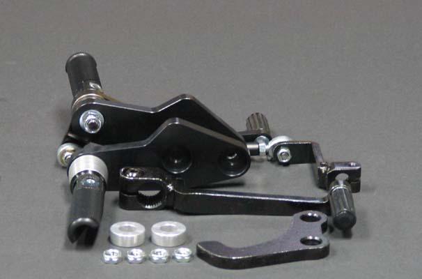 COERCE(コアース) フィクスドレーシングステップ SR400(インジェクション)/500 ブラックバージョン (0-6-BY20C)