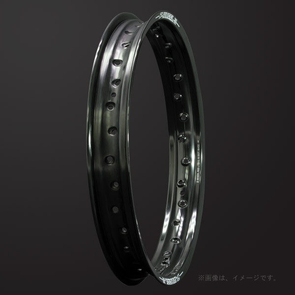 ZETA(ジータ) Z-WHEEL(Zウィール) R50リム リア ブラック(W01-73411)