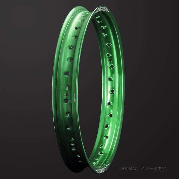 ZETA(ジータ) Z-WHEEL(Zウィール) R50リム リア グリーン(W01-73414)