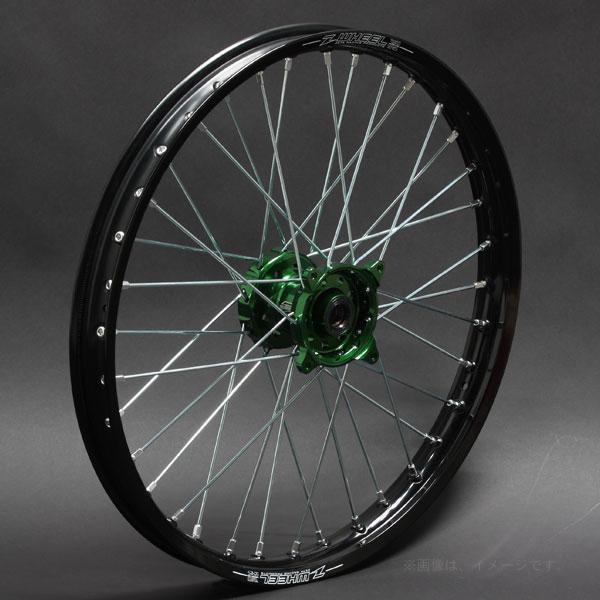 ZETA(ジータ) Z-WHEEL(Zウィール) AR1ホイールキット グリーン/ブラック(W21-13011)