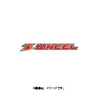 ZETA(ジータ) Z-WHEEL(Zウィール) モタードリムセット BLKリム+SUSスポーク+SLVアルミニップル R RMZ250'07-,RMZ450'05- [W26-25011]