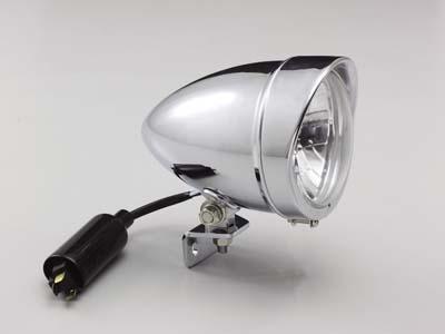 ハリケーン HA5617 4 5マルチスリムヘッドライトkit クロームメッキ ビラーゴ250/400